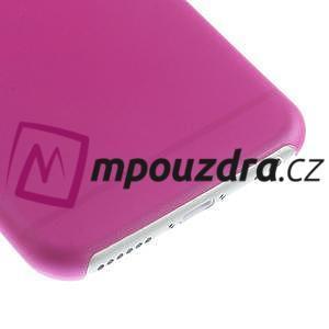 Ultra slim 0.3 mm plastové pouzdro na iPhone 6, 4.7  - růžové - 4