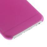Ultra slim 0.3 mm plastové pouzdro na iPhone 6, 4.7  - růžové - 4/5
