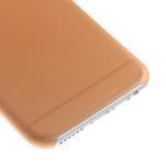 Ultra slim 0.3 mm plastové pouzdro na iPhone 6, 4.7  - oranžové - 4/5