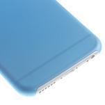 Ultra slim 0.3 mm plastové pouzdro na iPhone 6, 4.7  - modré - 4/5