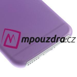 Ultra slim 0.3 mm plastové pouzdro na iPhone 6, 4.7  - fialové - 4