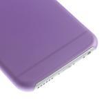 Ultra slim 0.3 mm plastové pouzdro na iPhone 6, 4.7  - fialové - 4/5