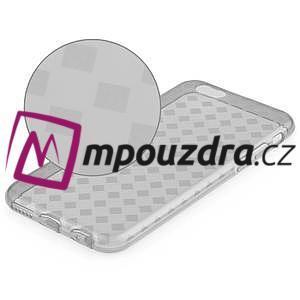 Gelové koskované pouzdro na iPhone 6, 4.7 - šedé - 4