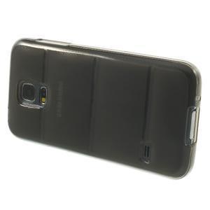 Gelové pouzdro na Samsung Galaxy S5 mini G-800- vesta šedá - 4