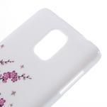 Gelové pouzdro na Samsung Galaxy Note 4- kvetoucí větvička - 4/5