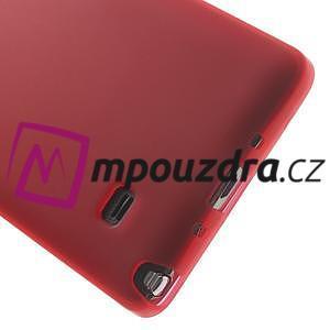 Gelové pouzdro na Samsung Galaxy Note 4- červené - 4