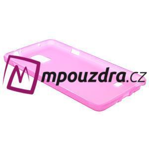 Gelové pouzdro na Samsung Galaxy Note 4- růžové - 4