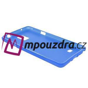 Gelové pouzdro na Samsung Galaxy Note 4- modré - 4
