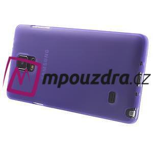 Gelové pouzdro na Samsung Galaxy Note 4- fialové - 4