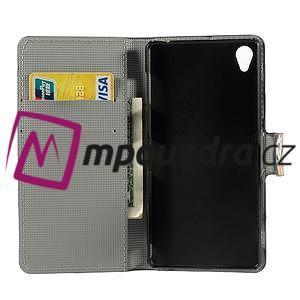 Peněženkové pouzdro na Sony Xperia Z3 D6603 - barevné vzory - 4