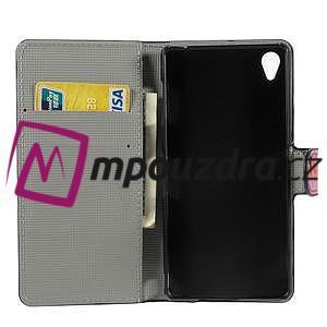 Peněženkové pouzdro na Sony Xperia Z3 D6603 - motýlí - 4