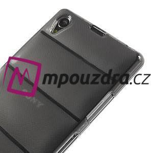 Gelové Body pouzdro na Sony Xperia Z1 C6903 - šedé - 4