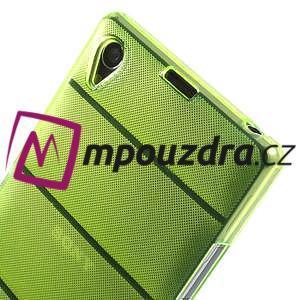 Gelové Body pouzdro na Sony Xperia Z1 C6903 - zelené - 4