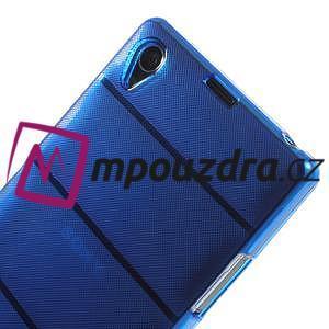 Gelové Body pouzdro na Sony Xperia Z1 C6903 - modré - 4