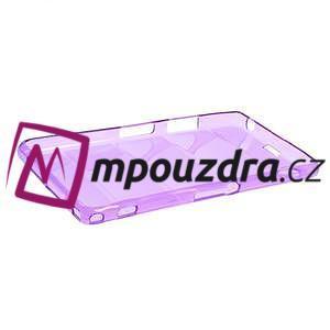 Gelové Body pouzdro na Sony Xperia Z1 C6903 - fialové - 4