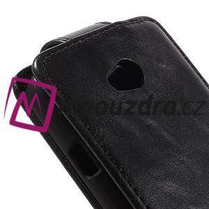 Flipové pouzdro na LG L65 D280 - černé - 4