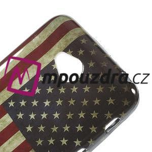 Gelové pouzdro na LG L65 D280 - USA vlajka - 4