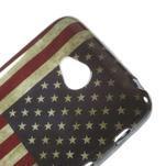 Gelové pouzdro na LG L65 D280 - USA vlajka - 4/5