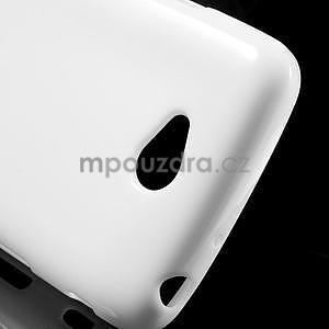 Gelové pouzdro na LG L65 D280 - bílé - 4