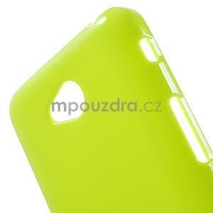 Gelové pouzdro na LG L65 D280 - zelené - 4