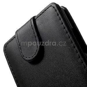Flipové pouzdro na Nokia Lumia 830 - černé - 4