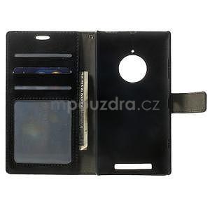 Peněženkové pouzdro na Nokia Lumia 830 - černé - 4