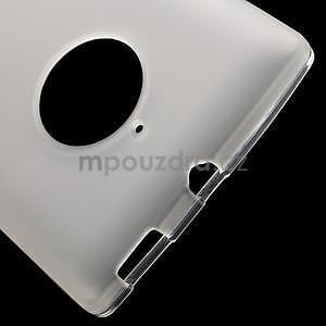 Gelové matné pouzdro na Nokia Lumia 830 - transparentní - 4
