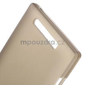 Gelové matné pouzdro na Nokia Lumia 830 - šedé - 4