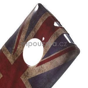Gelové pouzdro na Nokia Lumia 830 - UK vlajka - 4