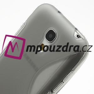 Gelové S-line pouzdro pro Samsung Galaxy S4 mini i9190, i9192, GT-i9195 - šedé - 4