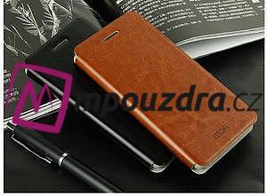 Flipové PU kožené pouzdro na Xiaomi Mi4- černé - 4
