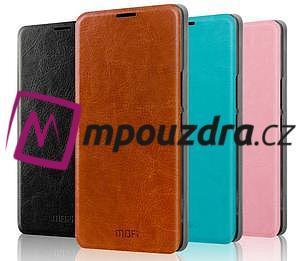 Flipové PU kožené pouzdro na Xiaomi Mi4- hnědé - 4