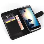 Peněženkové pouzdro na Alcatel One Touch Idol Alpha 6032 A - černé - 4/6