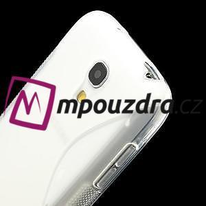 Gelové S-line pouzdro pro Samsung Galaxy S4 mini i9190, i9192, GT-i9195 - transparentní - 4