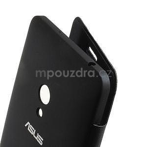Flipové pouzdro na Asus Zenfone 5 - tmavěmodré - 4