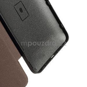 Flipové pouzdro na Asus Zenfone 5 - coffee - 4
