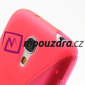 Gelové S-line pouzdro pro Samsung Galaxy S4 mini i9190, i9192, GT-i9195 - rose - 4