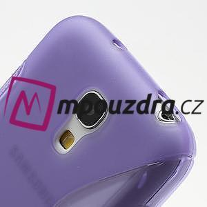 Gelové S-line pouzdro pro Samsung Galaxy S4 mini i9190, i9192, GT-i9195 - fialové - 4