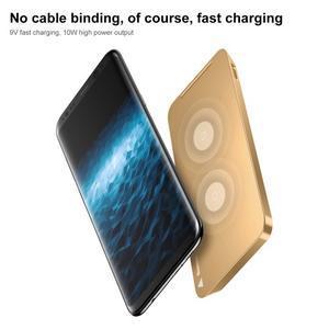 Coils bezdrátová nabíječka pro mobilní telefony - zlatá - 4