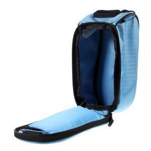 Prostorná brašna na kolo pro mobilní telefony do rozměru 158,1 x 78 x 7,1 mm - modrá - 4