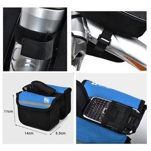 Víceúčelová brašna na kolo pro mobilní telefony do 95 x 45 mm - 4