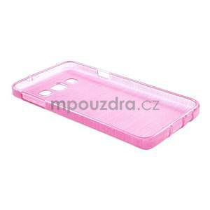 Broušené pouzdro na Samsung Galaxy A3 - rose - 4