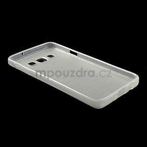 Broušené pouzdro na Samsung Galaxy A3 - bílá - 4