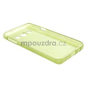 Broušené pouzdro na Samsung Galaxy A3 - zelená - 4