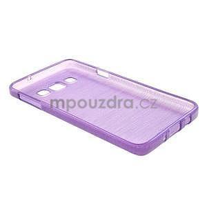 Broušené pouzdro na Samsung Galaxy A3 - fialová - 4