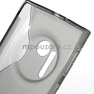 Gelové S-line pouzdro pro Nokia Lumia 1020- šedá - 4