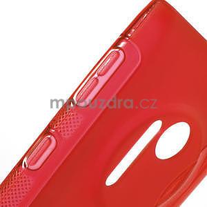 Gelové S-line pouzdro pro Nokia Lumia 1020- červené - 4
