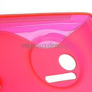 Gelové S-line pouzdro pro Nokia Lumia 1020- růžové - 4