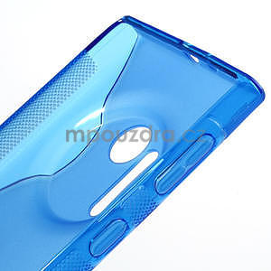 Gelové S-line pouzdro pro Nokia Lumia 1020- modré - 4