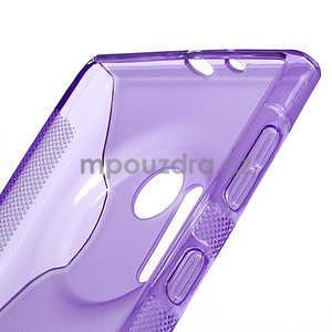 Gelové S-line pouzdro pro Nokia Lumia 1020- fialové - 4